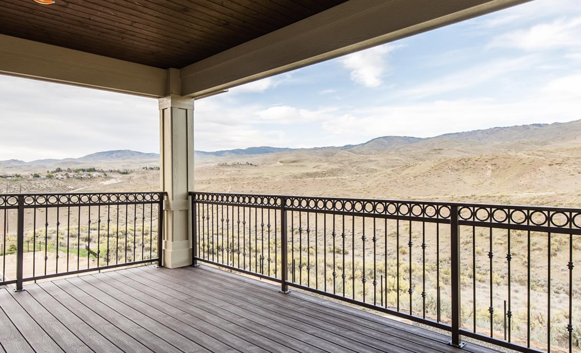 The Heavens Way House Upstairs Balcony