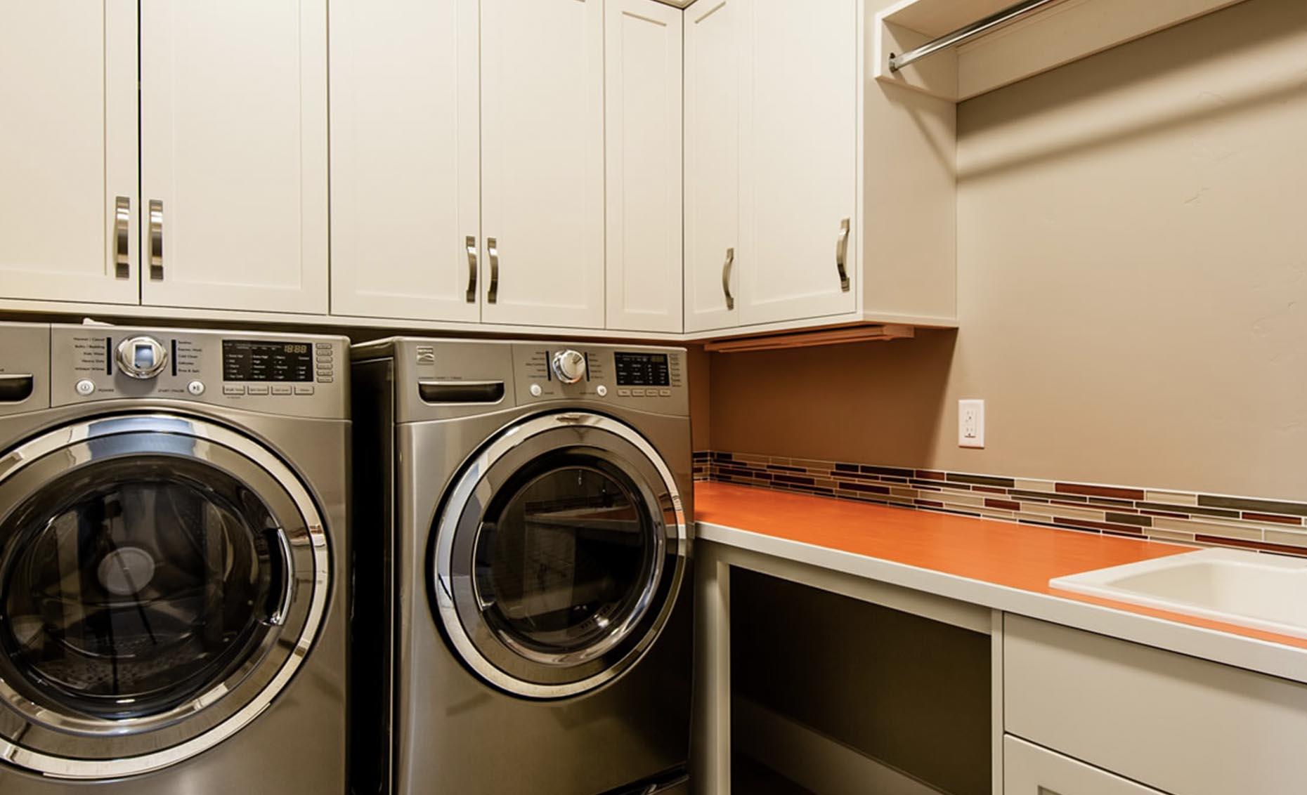 The Heavens Way House Laundry Room