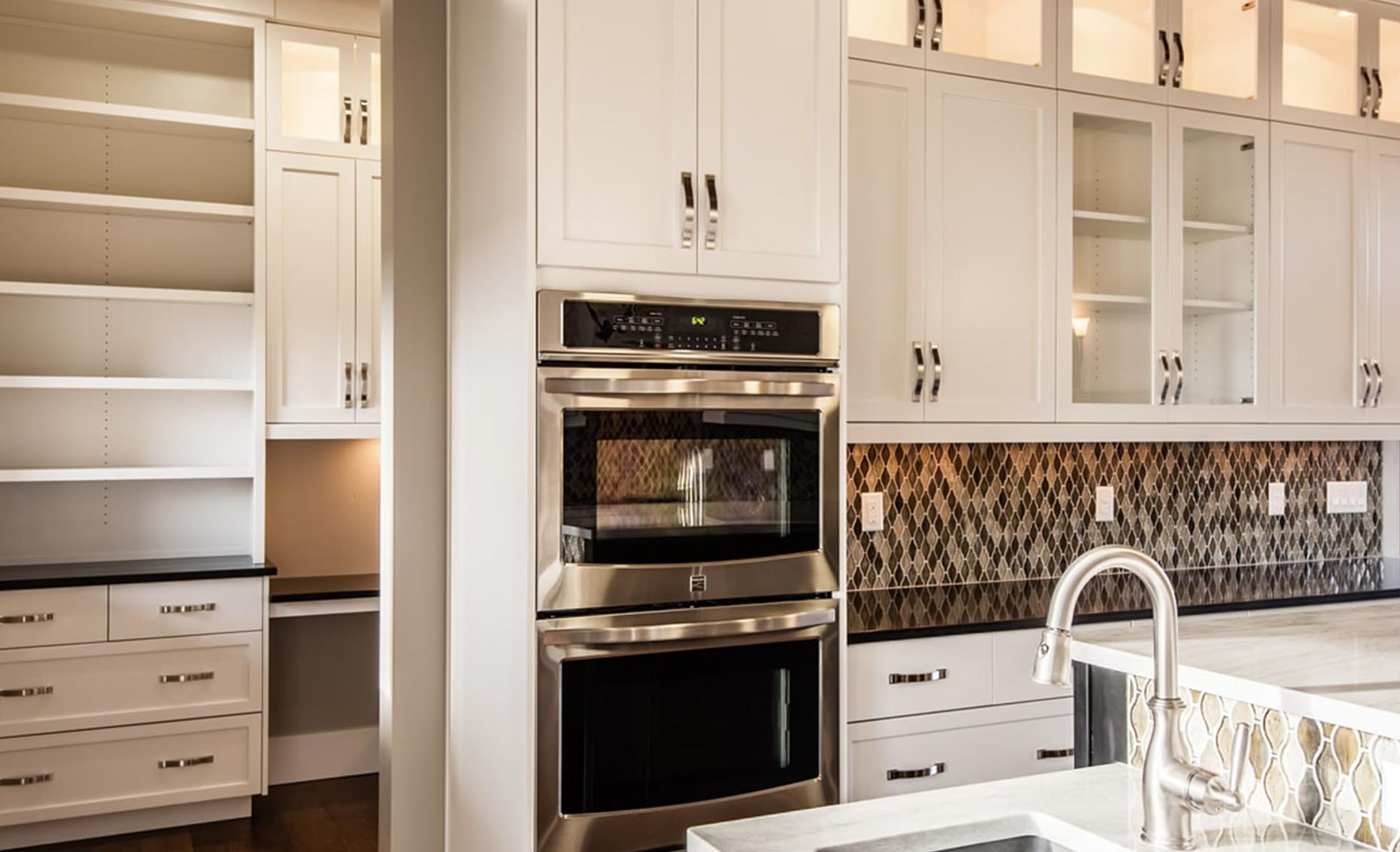 The Heavens Way House Kitchen Appliances and Cabinetry