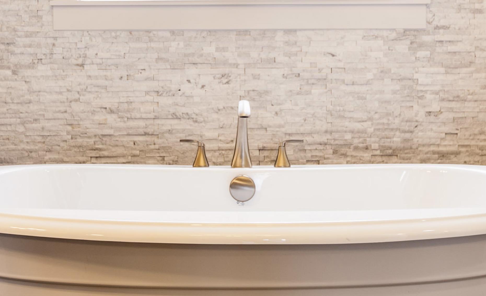 The Heavens Way House Master Bathroom Bath Tub