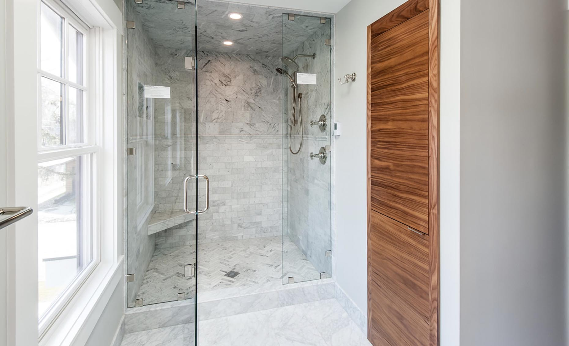 The Bungalow House Master Bathroom Shower