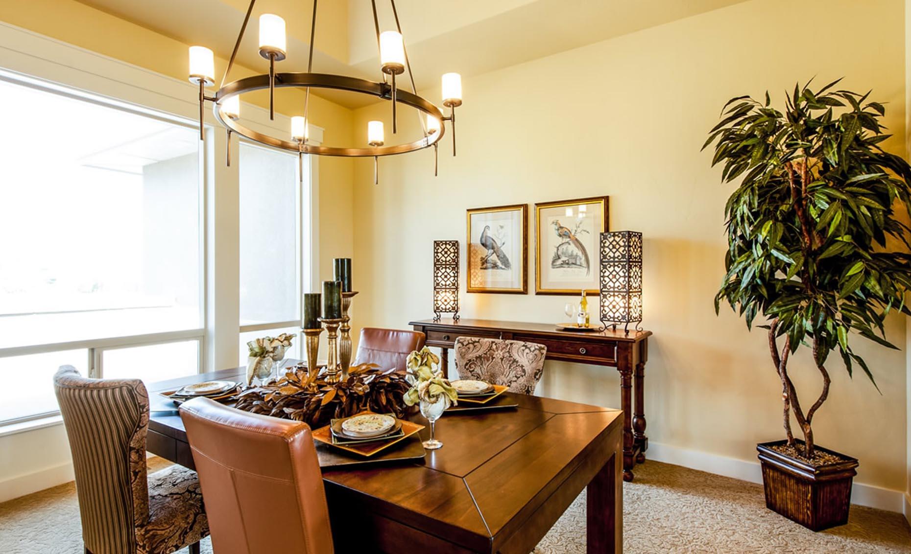 The Villa House Dining Room