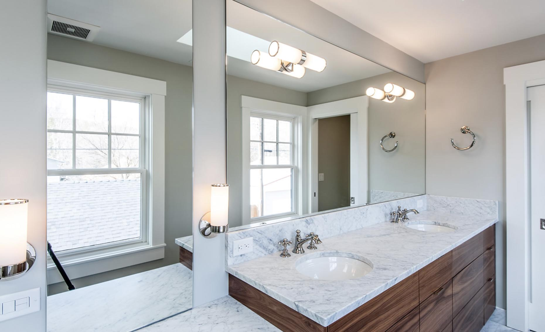 The Bungalow House Master Bathroom