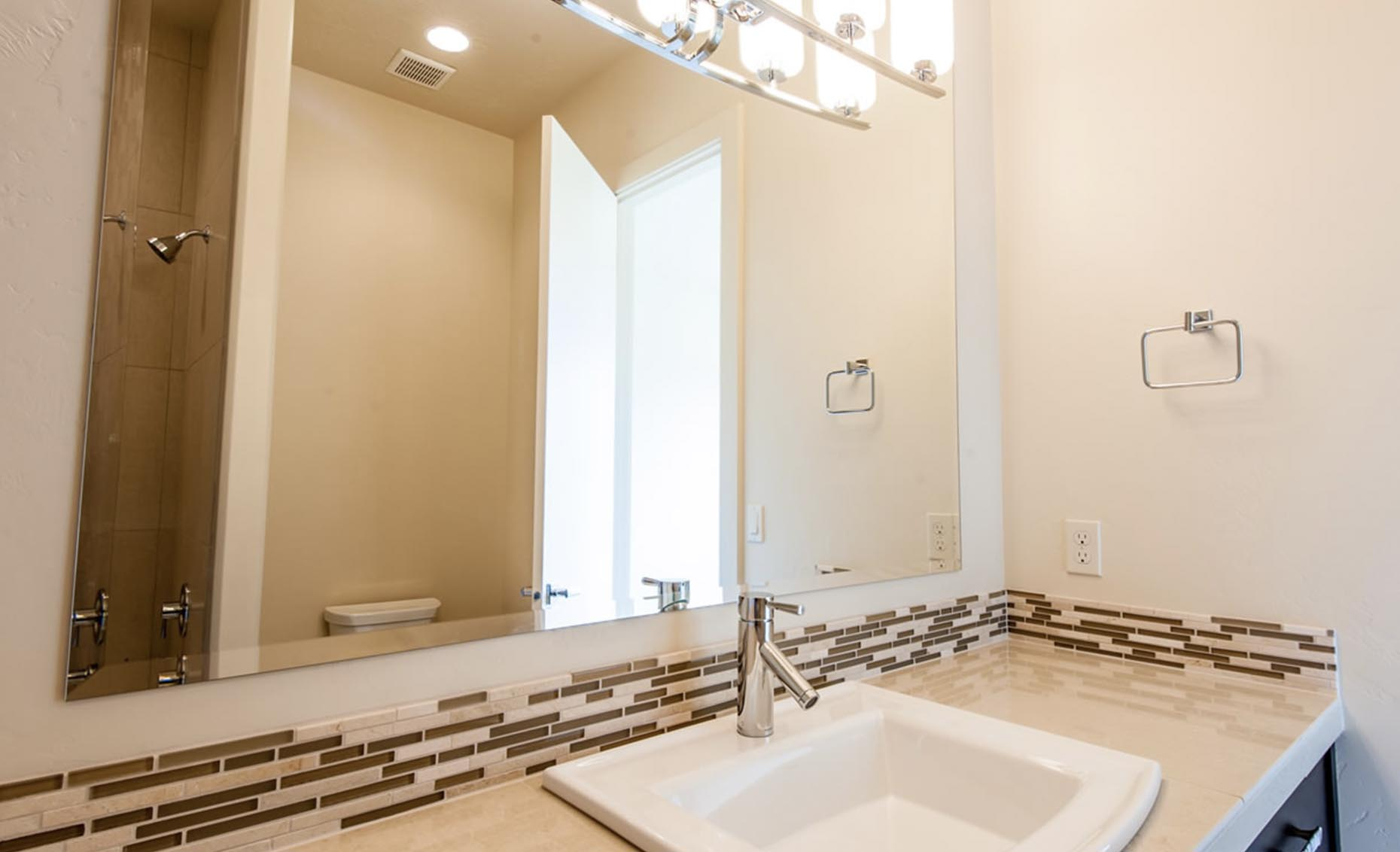 The Contemporary House Guest Bathroom