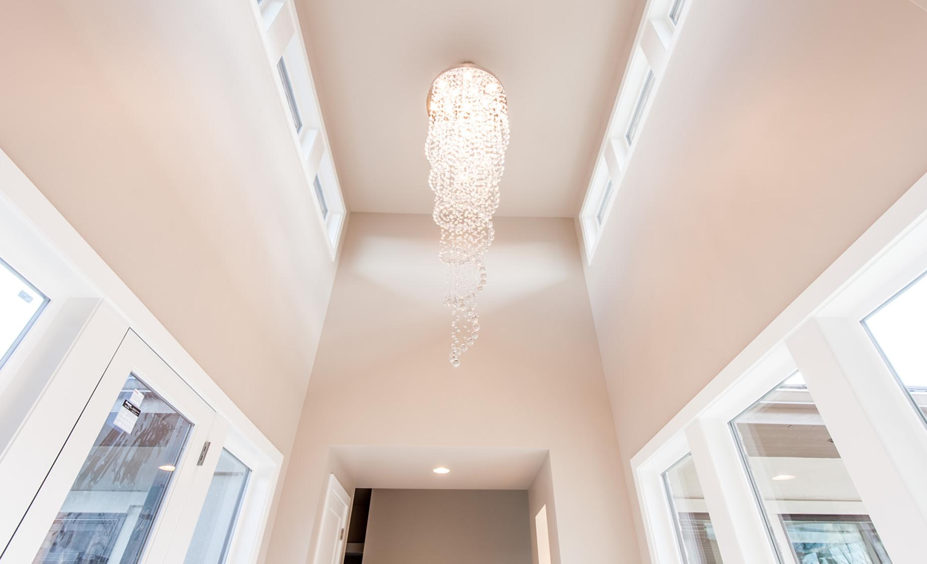 The Rivermont Eagle House Chandelier