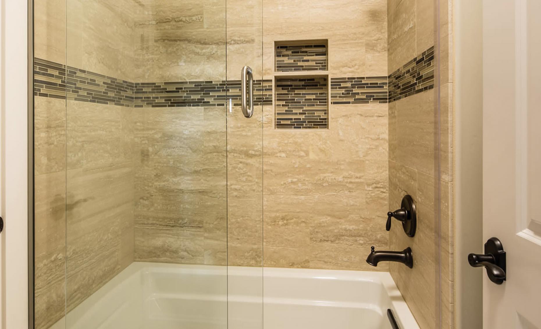 The Strata Via House Guest Bathroom Bath Tub