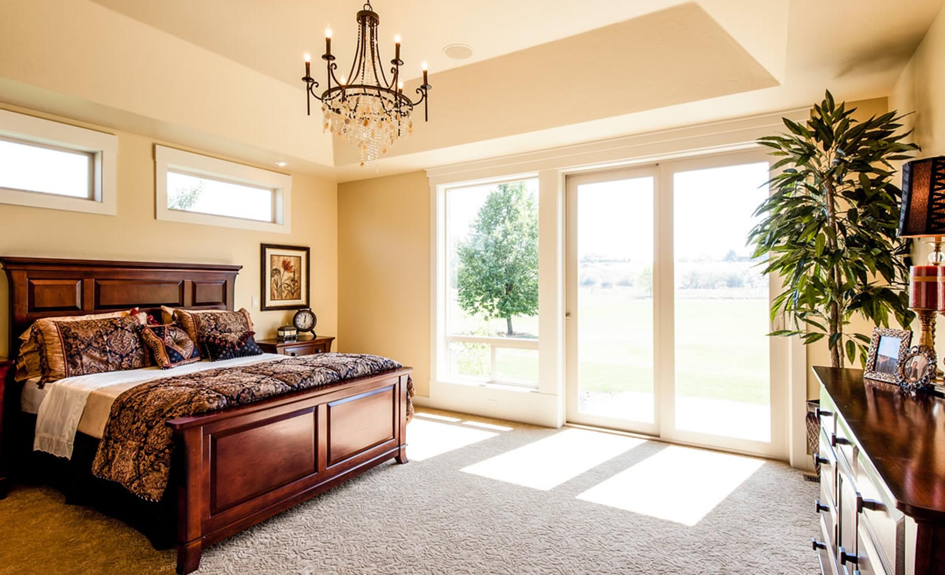 The Villa House Master Bedroom