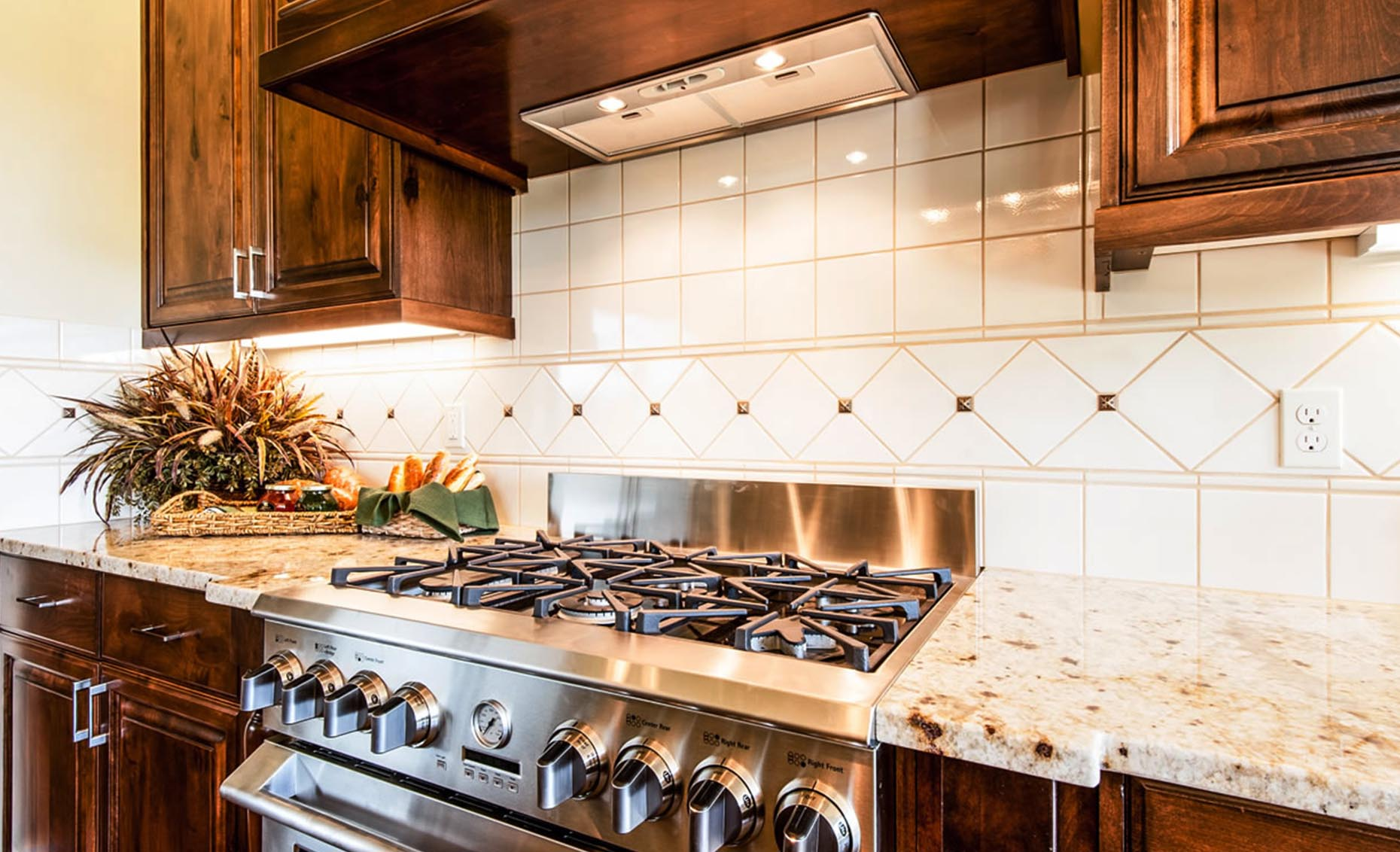 The Villa House Kitchen Stovetop