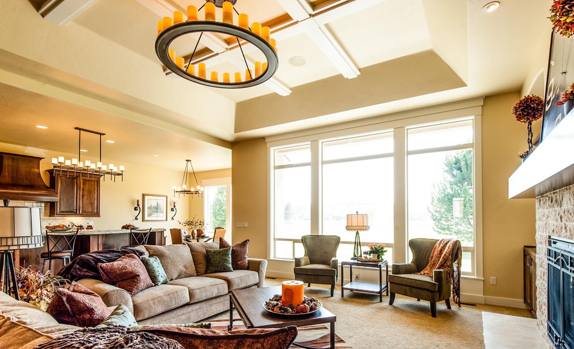The Villa House Living Room