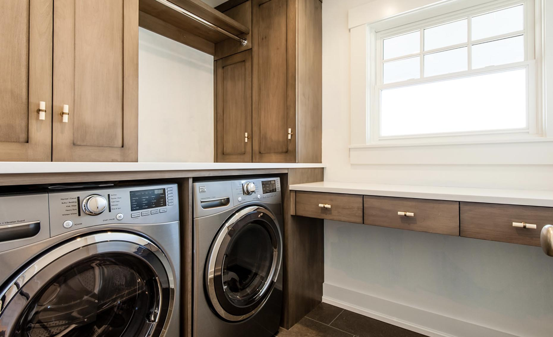 The Bungalow House Laundry Room