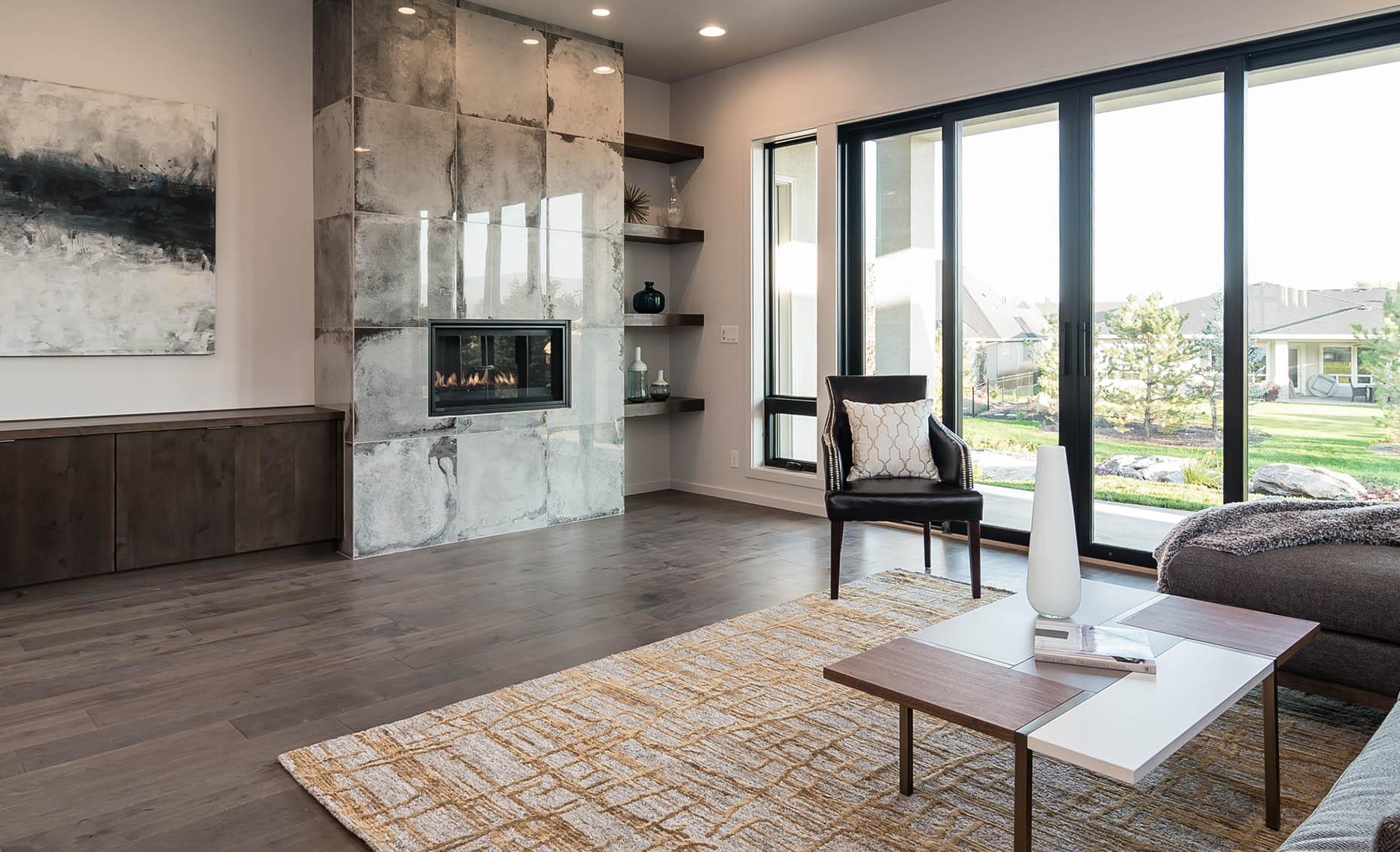 The Moderno House Living Room