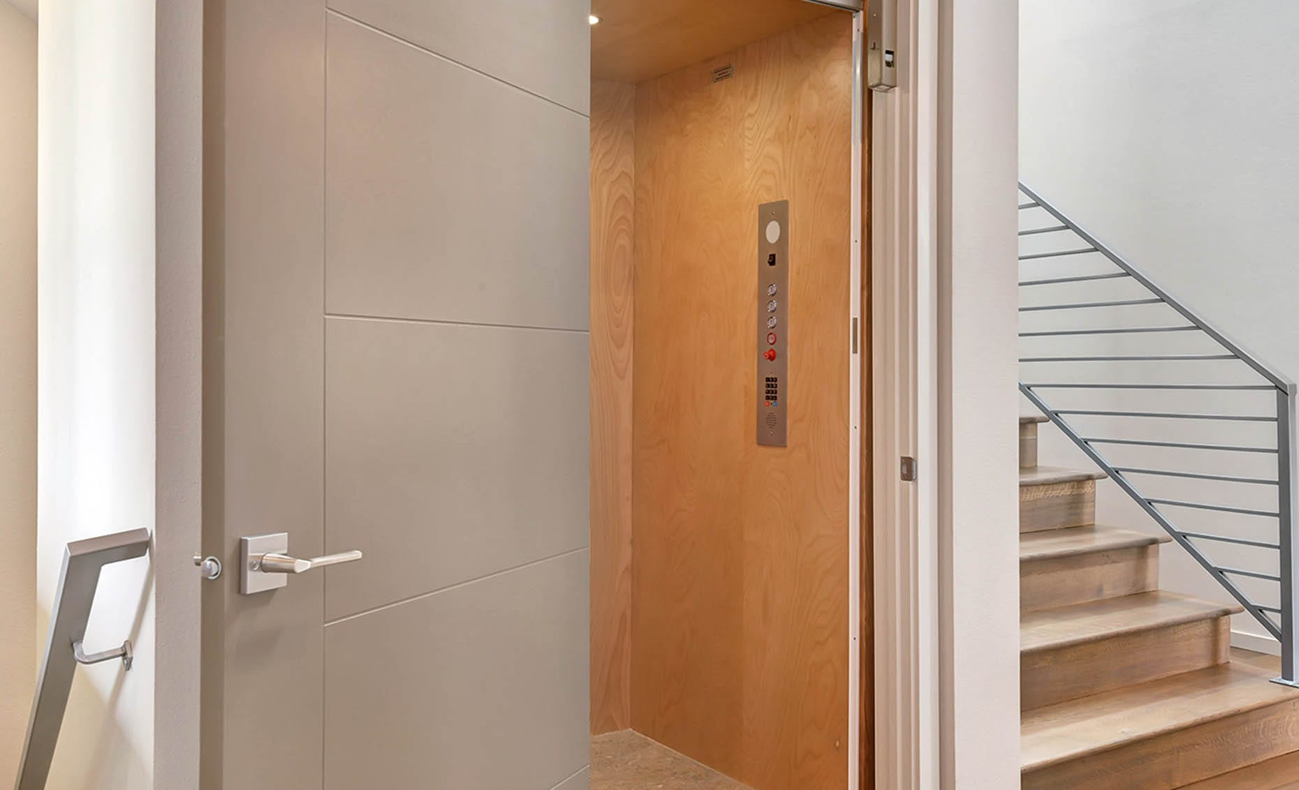 The Nature View Custom Home In-Home Elevator