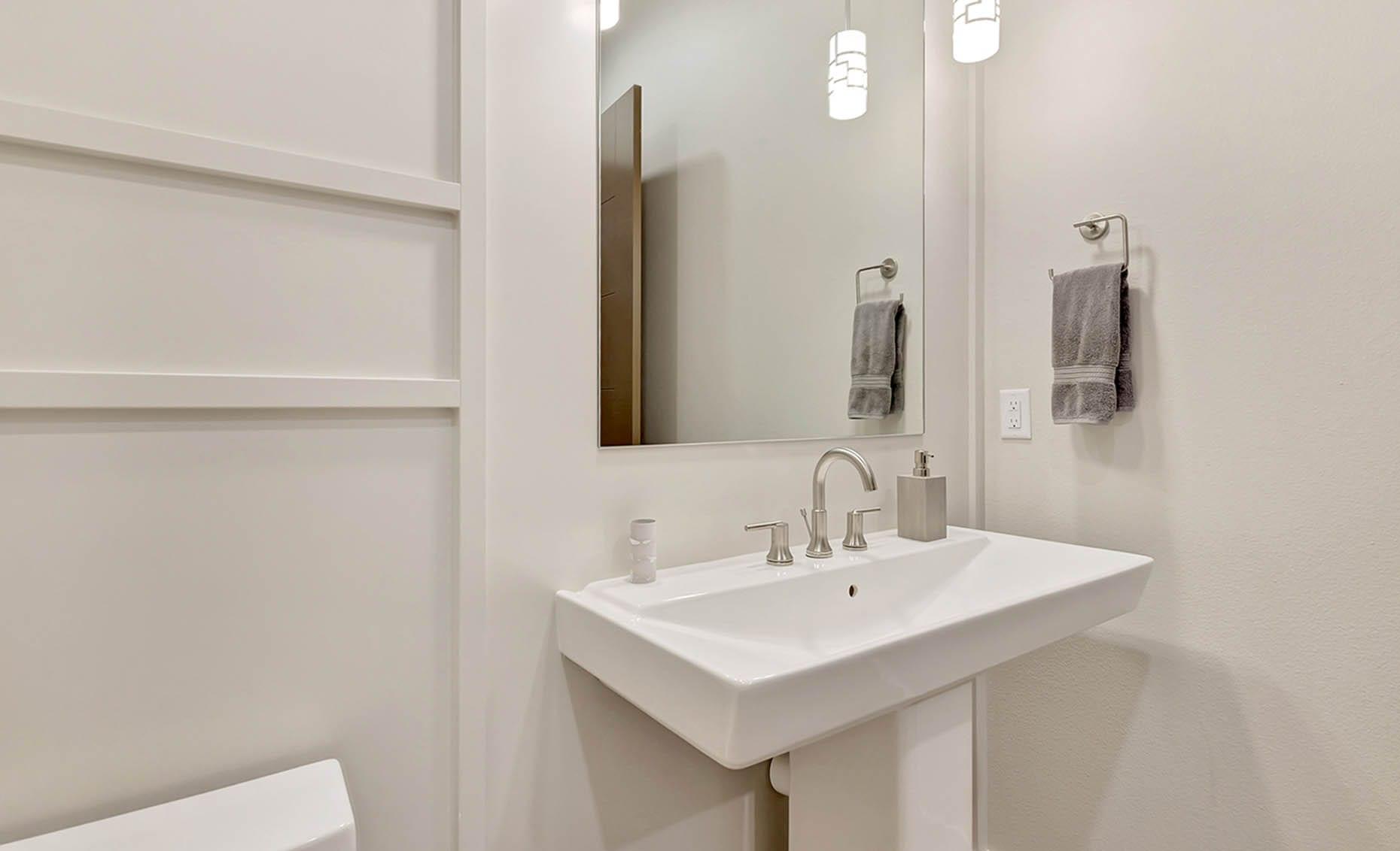 The Nature View Custom Home Bathroom